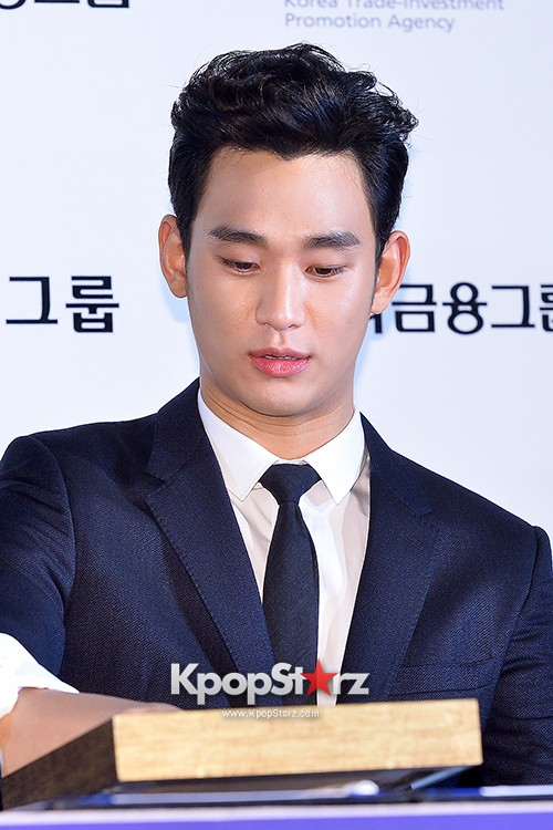 Kim Soo Hyun at Daejong Film Festival Hand Printing Ceremonykey=>14 count26
