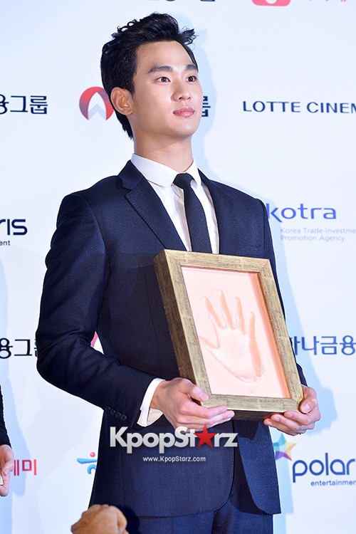 Kim Soo Hyun at Daejong Film Festival Hand Printing Ceremonykey=>16 count26