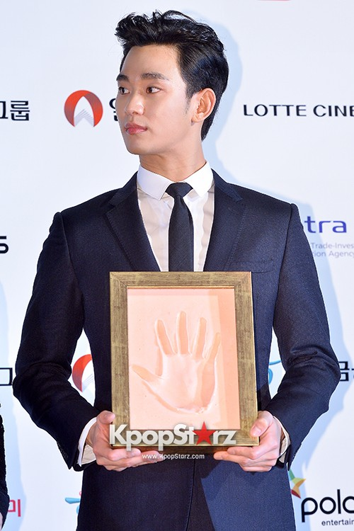 Kim Soo Hyun at Daejong Film Festival Hand Printing Ceremonykey=>17 count26