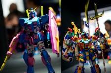 Minzy Honors 2NE1 In Gundam Figure Design