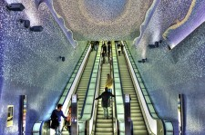 You Would Want To Live In These Beautiful Subway Stations