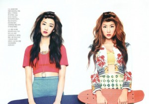 Sexy or Cute? SISTAR Soyu and Dasom on 'CeCi' Magainze