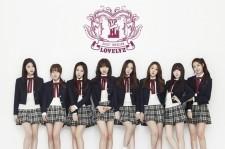 K-pop girl group Lovelyz