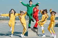 T-ARA with the Chopsticks Brothers