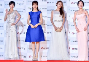 Kim Go Eun, Kim So Hyun, Nam Bo Ra and Seo Eun Ah at 51st Grand Bell Awards (Daejong Film Awards)