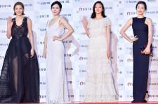 Son Dam Bi, Son Ye Jin, Esom and Lee Ha Nei at 51st Grand Bell Awards (Daejong Film Awards)