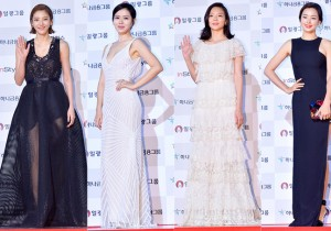 Son Dam Bi, Son Ye Jin, Esom and Lee Ha Nei at 51st Grand Bell Awards (Daejong Film Awards)