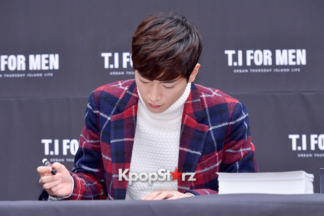 Seo Kang Joon at T.I. For Men Fan Signing Eventkey=>15 count23