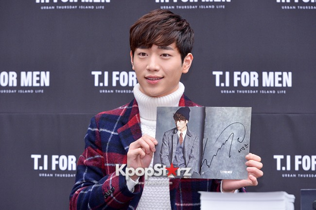 Seo Kang Joon at T.I. For Men Fan Signing Eventkey=>22 count23