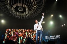 Actor Lee Min Ho Wraps Up Chinese Leg Of Global Tour With A Concert In Shanghai