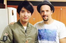 Jung Yong Hwa with Jason Mraz