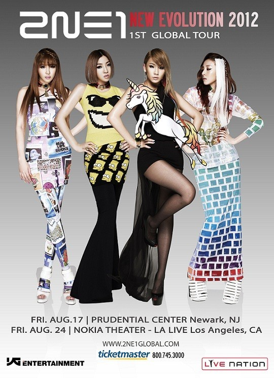 Giveaway : 2NE1 'New Evolution' Concert Tickets & Signed CD