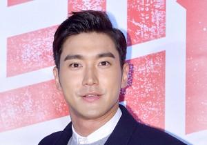 Super Junior's Choi Siwon at 'Big Match' VIP Movie Premiere