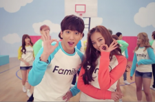 B1A4, GOT7, and CLC come together for the cute video 'Family.'