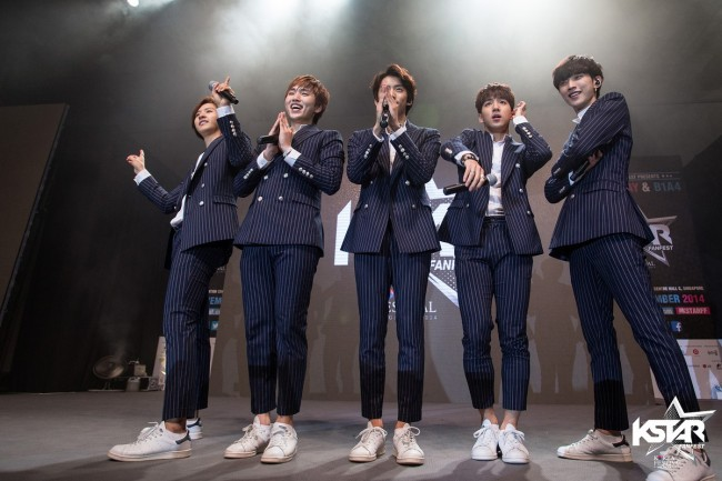 B1A4 At KStar FanFest: Picked BANAs Over APink, Girl's Day and SNSD! [PHOTOS]key=>8 count10