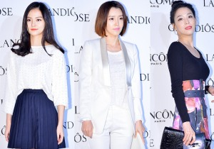 Kim Yoon Hye, Chae Jung Ahn and Han Go Eun Attend Lancome's GRANDIOSE Mascara Launching Event