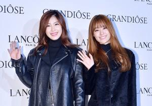 Secret's Jun Hyosung and Song Jieun Attend Lancome's GRANDIOSE Mascara Launching Event