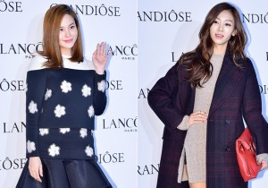 Ivy and G.NA Attend Lancome's GRANDIOSE Mascara Launching Event