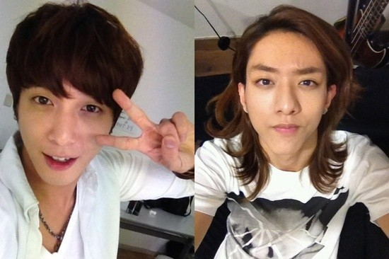 CNBlue Jung Yong Hwa And Lee Jung Shin, 'Cute' Self Camera Pictureskey=>0 count1