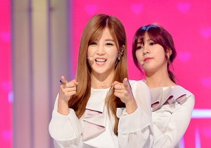 A-Pink at MBC Music Show Champion