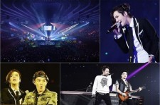 Jang Keun Suk's Group TEAM H Complete Tour Of Japan