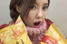 t-ara hyomin honey butter chips