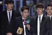 EXO led the pack with three awards by the final hour of MAMA.