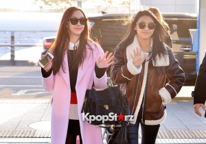 Sistar at Incheon International Airport Leaving for 2014 MAMA in Hong Kong