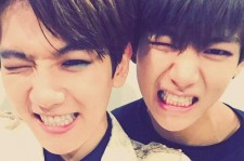 EXO's Baekhyun And BTS's V Are Identical In Selfie, 'Baekhyun And Taehyung' Trends Worldwide
