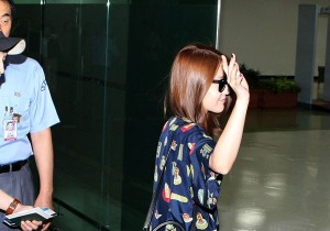 """BoA's Chic and Luxury Fashion at Gimpo Airport """"Going to SMTOWN Live in Tokyo"""""""