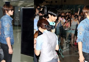 """TVXQ Wreak Havoc Gimpo Airport """"'We are Going to SMTOWN Live in Tokyo"""""""
