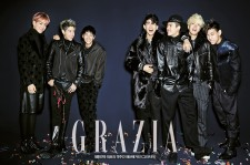 GOT7 Grazia Magazine December Issue 2014