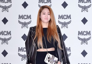 Soyou at MCM Lab Grand Opening Party