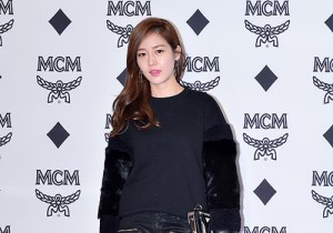 Sung Yu Ri at MCM Lab Grand Opening Party
