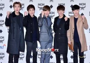 EXO at MCM Lab Grand Opening Party