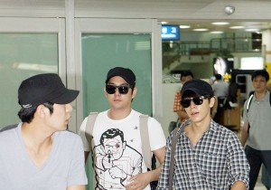 Super Junior's Carefree Fashion Style at Kimpo Airport after 'SMTOWN Live Tour in Tokyo'