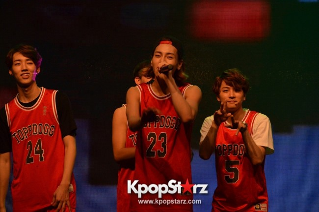 Topp Dogg at Topp Dogg First Showcase 2014 Live in Malaysia - Dec 7, 2014 [PHOTOS]key=>67 count86