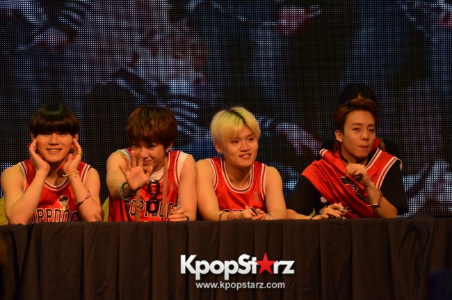 Topp Dogg at Topp Dogg First Showcase 2014 Live in Malaysia - Dec 7, 2014 [PHOTOS]key=>81 count86