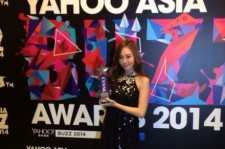 Jessica Jung at Yahoo Buzz Awards