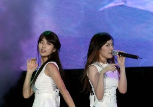 'White Angels' miss A at 'S III Idol Big Match' with Samsung Electronic Galaxy S III