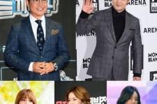 MCs for mbc korean music festival