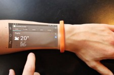 Could This Be The Future Of Smartphone? New Technology Turns Your Arm Into A Phone Screen