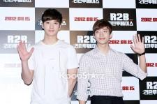 2PM Chansung & Junho's Dandy Fashion at 'R2B: Return to Base' Movie Premiere