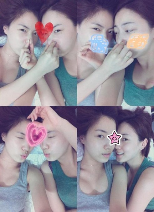 Hwayoung and Hyoyoung Post a Picture after 'T-ARA Crisis'key=>0 count1