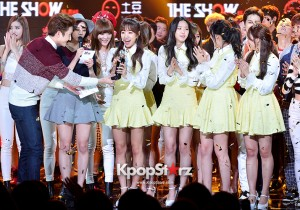 A Pink [LUV] at SBS MTV The Show : All about K-POP Season 4