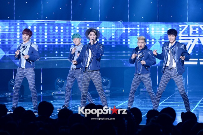 Zest [My All] at SBS MTV The Show : All about K-POP Season 4key=>10 count11