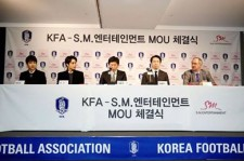 SM & KFA Sign MOU, EXO Members Attend