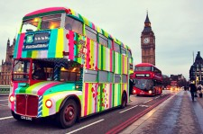 A Fully-Knitted 7up Bus Tours Streets Of London