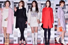 Soy, Son Dam Bi, Son Eun Seo, Song Ji Hyo and Yoo In Young Attend a VIP Premiere of Upcoming Film 'International Market'