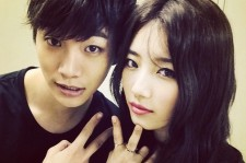 miss a suzy picture with 2pm junho